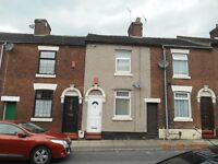 LET BY - 2 BEDROOM - ROSE STREET - STOKE ON TRENT - LOW RENT - NO DEPOSITS - DSS ACCEPTED