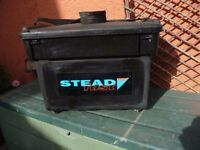 STEAD FAST TACKLE AND SEAT BOX