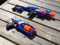 Two Nerf guns - Strongarm and Stockade