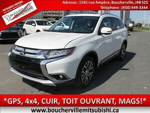 2016 Mitsubishi Outlander GT*NAV (GPS), CUIR, TOIT OUVRANT*