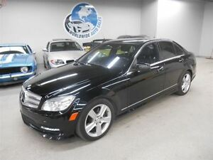 2011 Mercedes-Benz C-Class C300 4MATIC! LOOK! FINANCING AVAILABL