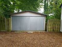 Double Garage 23ft x 15ft
