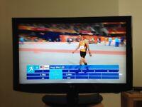 "LG 37LH2000 37"" HD Ready Freeview LCD TV."