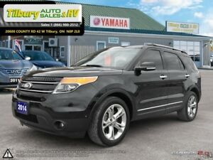 2014 Ford Explorer LIMITED. *Back up Cam. Heated Seats. Touch Sc