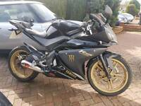 Yamaha yzf r125 12 plate 1 owner