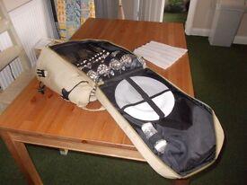 New Ruck sack picnic set for four