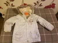 Girls Coats 4-5 yrs