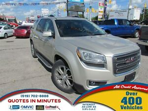 2013 GMC Acadia SLT1 | AWD | SUNROOF | LEATHER | BACKUP CAM