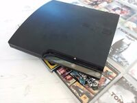 PS3, controller and games 120GB