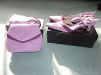 JACQUES VENT SHOES AND MATCHING BAG