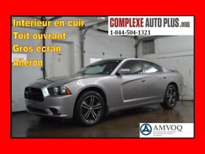 2013 Dodge Charger SXT Plus AWD *Cuir,Toit,Mags 19 po.