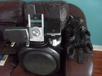 LOGITECH Z-5500 DIGITAL PC MULTIMEDIA HOME THEATRE SPEAKER SYSTEM 505 WATT