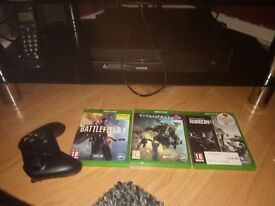 Xbox one + kinnect and games