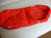 STOKKE cosytoes in red - in excellent condition