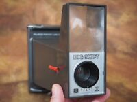 Polaroid Big Shot Portrait Camera (instant film camera as used by Andy Warhol) with Flash adapter