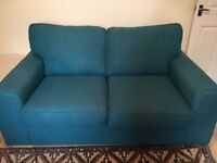 2 seater DFS sofa hardly used 2 years old only
