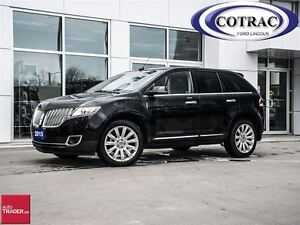 2015 Lincoln MKX AWD MOONROOF LOW KM
