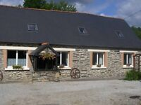 2 beautiful character properties in rural Brittany for the price of 1 UK property - Farmhouse & Gite