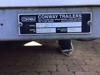BOX TRAILER BY CONWAY ROLLER SHUTTER DOOR