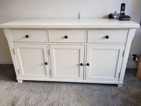 Large White Sideboard