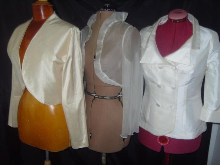 Zeer ervaren coupeuse TOOS voor bruid/avondkleding maatwerk
