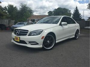 2011 Mercedes-Benz C-Class C250 4MATIC NICE LOCAL TRADE IN!
