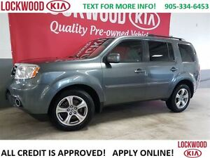 2012 Honda Pilot EX-L  LEATHER, SUNROOF, HEATED SEATS, REARVIEW