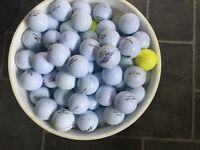 BUNDLE OF 50 EXCELLENT CONDITION MIXED GOLF BALLS