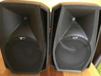 Db technologies 12 + powered speakers 600 w each price lowered must go