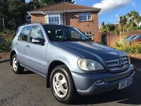 2004 MERCEDES ML270 CDI AUTO ** SERVICE HISTORY ** ALL MAJOR CARDS ACCEPTED