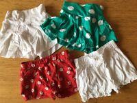 Baby Girl Shorts Bundle 3-6 Months