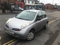 2003*NISSAN MICRA S 1.2 PETROL*10 MONTHS MOT*LOW MILES*SERVICE HISTORY*IDEAL FIRST CAR