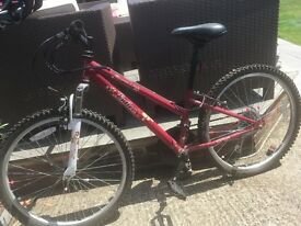 Girls bicycle for sale in very good condition