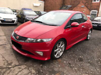 Honda Civic 2.0 i-VTEC Type R 3dr -2008, 1 Former Keeper, 12 Months MOT, 6 Services, Immaculate Car!