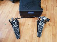 Tama Iron Cobra hp900 double pedal power glide with hardcase