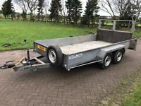 Hazelwood twin axel trailer 12FT X 6FT