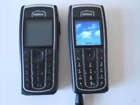 2 x Nokia 6230i sim free **UNLOCKED** black classic mobile phone + Original boxes **USED**
