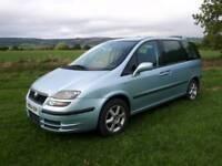 Fiat 7 Seater, auto. LPG / Petrol