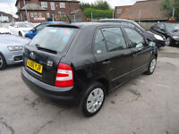 2006 SKODA FABIA AMBIENTE HTP 1.2 PETROL ONE FORMER OWNER GOOD CONDITION CAR PRICE £995