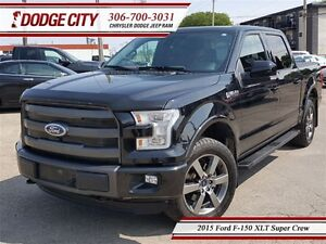 2015 Ford F-150 XLT | Super Crew | PST PAID