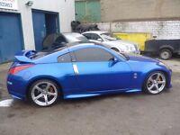 Nissan 350Z Nismo LTD Edition,3 door hatchback,UK car,FSH,full body kit,spoilers,Sports exhaust,68k