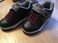 Heelys Dual Up Shoes - Black Grey