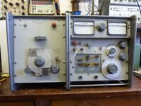 Marconi Q Meter TF 1245A complete with all accessories