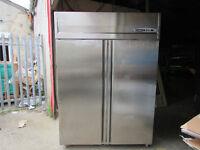 double door fridge stainless steel
