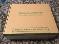 ZGemma Star s2 satellite receiver. With remote/box.