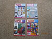 Patchwork & Quilting Magazine, 12 Issues Jan to Dec 2012