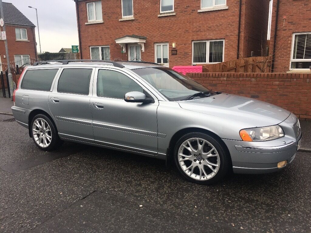 2007 volvo v70 d5 sport se estate auto very clean car. Black Bedroom Furniture Sets. Home Design Ideas