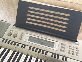 Casio WK-200 Keyboard (76 keys) complete with stand