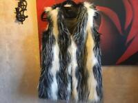 Jumpo ladies faux fur Geilt Sz 10 used one time £5