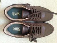 Men's Barbour size 8 shoes unworn